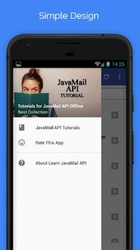 Tutorials for JavaMail API Offline poster