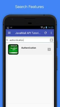 Tutorials for JavaMail API Offline apk screenshot