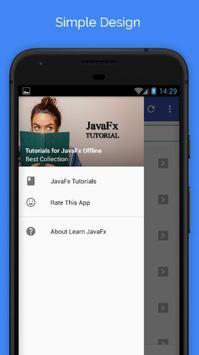 Tutorials for JavaFx Offline poster