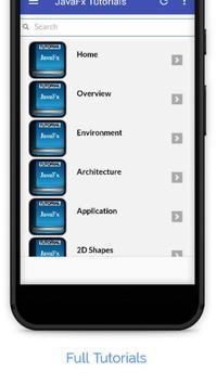 Tutorials for JavaFx Offline screenshot 1