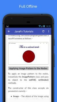 Tutorials for JavaFx Offline screenshot 4