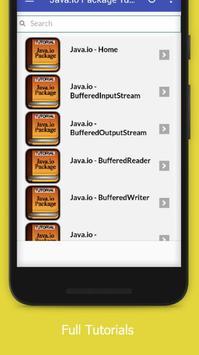 Tutorials for Java.io Package Offline screenshot 1