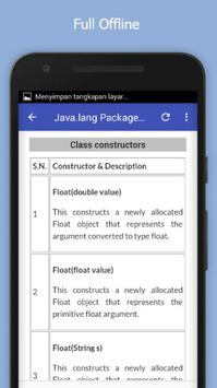 Tutorials for Java.lang Package Offline screenshot 4
