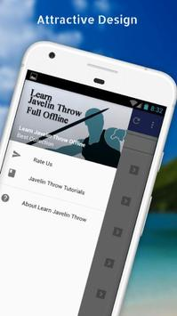 Tutorials for Javelin Throw Offline poster