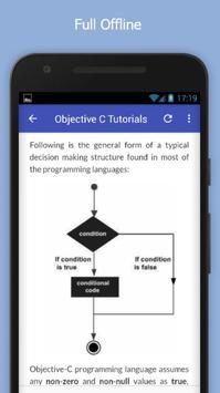 Tutorials for Objective C Offline apk screenshot