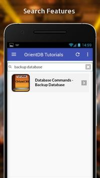 Tutorials for OrientDB Offline screenshot 2