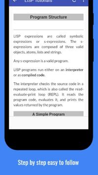 Tutorials for LISP Offline screenshot 3
