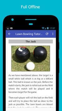 Tutorials for Lawn Bowling Offline screenshot 4