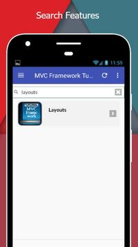 Tutorials for MVC Framework Offline screenshot 2