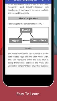 Tutorials for MVC Framework Offline screenshot 3