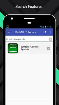 Tutorials for MathML Offline screenshot 2