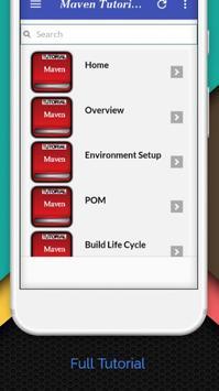 Tutorials for Maven Offline screenshot 1