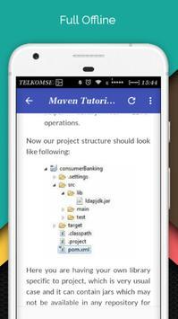 Tutorials for Maven Offline screenshot 4