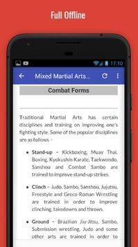 Learn Mixed Martial Arts screenshot 4