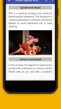 Learn Mixed Martial Arts screenshot 5