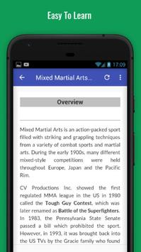 Learn Mixed Martial Arts screenshot 2