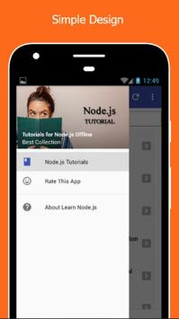 Tutorials for NodeJs Offline poster