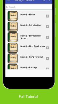Tutorials for NodeJs Offline screenshot 1