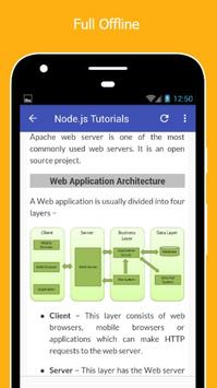 Tutorials for NodeJs Offline screenshot 4