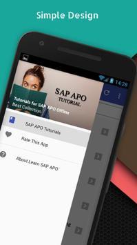 Tutorials for SAP APO Offline poster