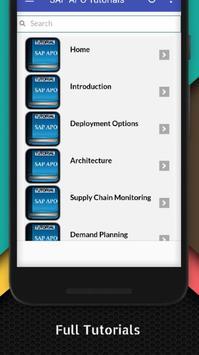 Tutorials for SAP APO Offline screenshot 1