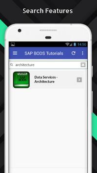 Tutorials for SAP BODS Offline apk screenshot