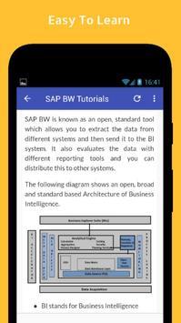 Tutorials for SAP BW Offline screenshot 3