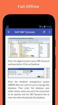Tutorials for SAP BW Offline screenshot 4