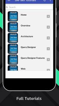 Tutorials for SAP Bex Offline apk screenshot