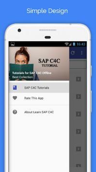 Tutorials for SAP C4C Offline poster