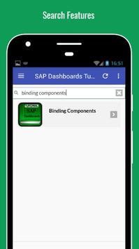 Tutorials for SAP Dashboards Offline apk screenshot