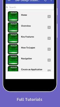 Tutorials for SAP Design Studio Offline screenshot 1