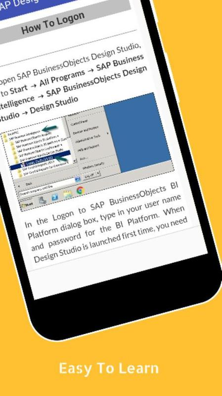 Download getting started with sap businessobjects design studio.
