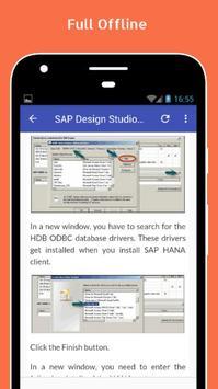 Tutorials for SAP Design Studio Offline screenshot 4