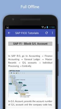 Tutorials for SAP FICO Offline screenshot 4
