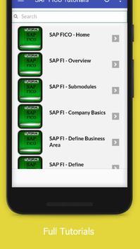 Tutorials for SAP FICO Offline screenshot 1