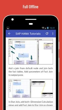 Tutorials for SAP HANA Offline screenshot 4