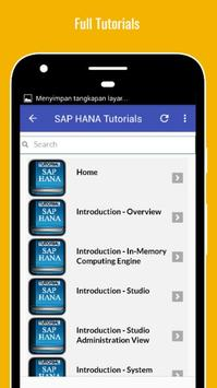 Tutorials for SAP HANA Offline screenshot 1