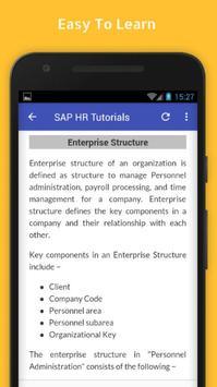 Tutorials for SAP HR Offline screenshot 3