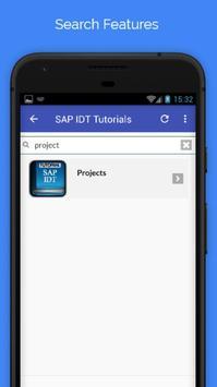 Tutorials for SAP IDT Offline apk screenshot