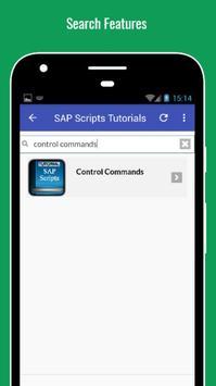 Tutorials for SAP Scripts Offline screenshot 2