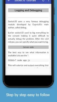 Tutorials for Socket.io Offline screenshot 3