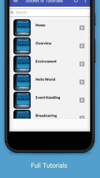 Tutorials for Socket.io Offline screenshot 1