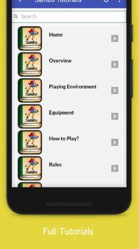 Tutorials for Sambo Offline screenshot 1