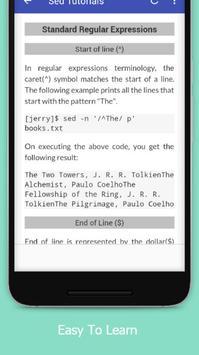Tutorials for Sed Offline screenshot 3