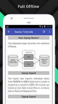 Tutorials for Sqoop Offline apk screenshot