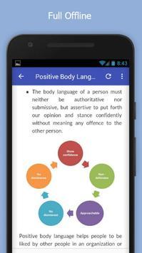 Tutorials for Positive Body Language Offline apk screenshot