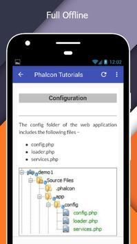 Tutorials for Phalcon Offline screenshot 4