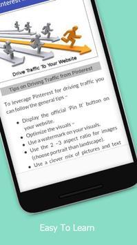 Tutorials for Pinterest Marketing Offline apk screenshot