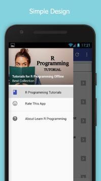 Tutorials for R Programming Offline poster